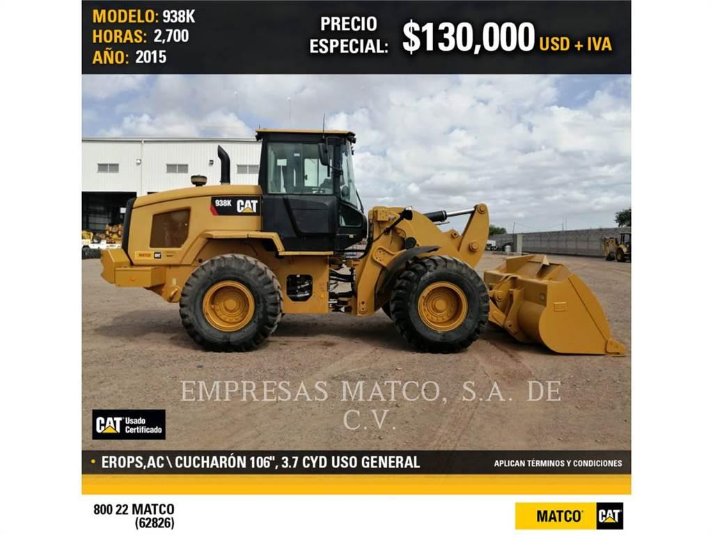 Caterpillar 938 K, Radlader, Bau-Und Bergbauausrüstung