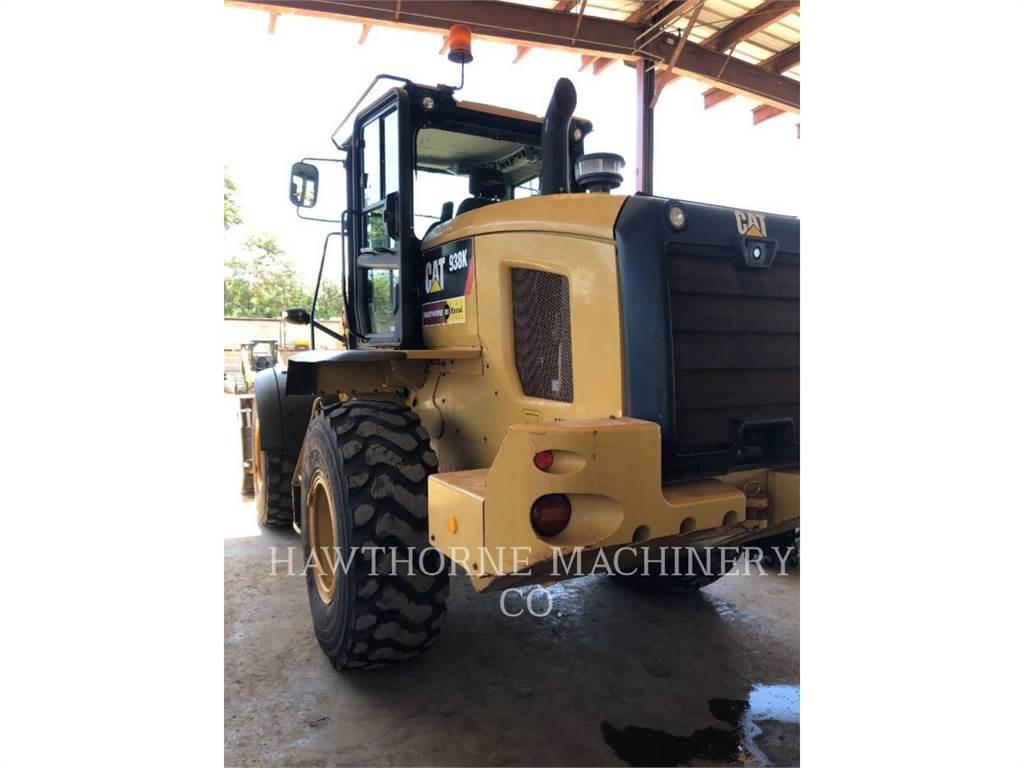 Caterpillar 938 K, Pás carregadoras de rodas, Equipamentos Construção