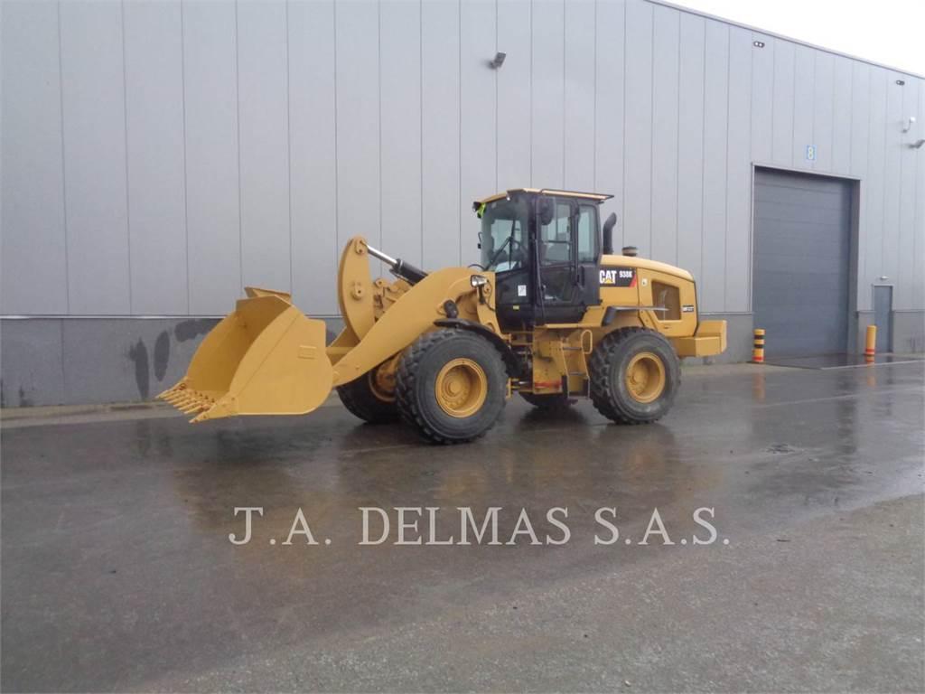 Caterpillar 938 K, Wheel Loaders, Construction