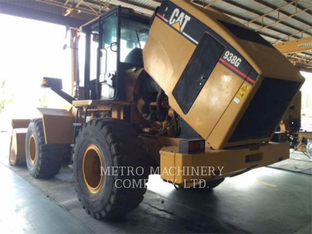 Caterpillar 938G, Wheel Loaders, Construction