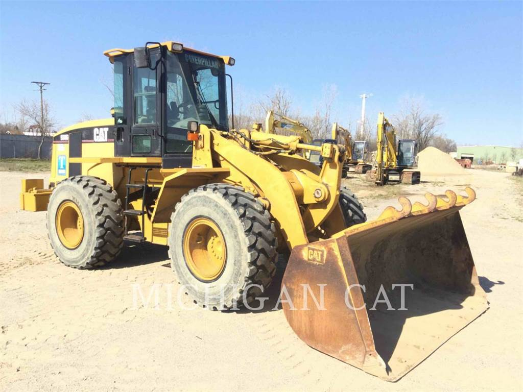 Caterpillar 938G, Pás carregadoras de rodas, Equipamentos Construção