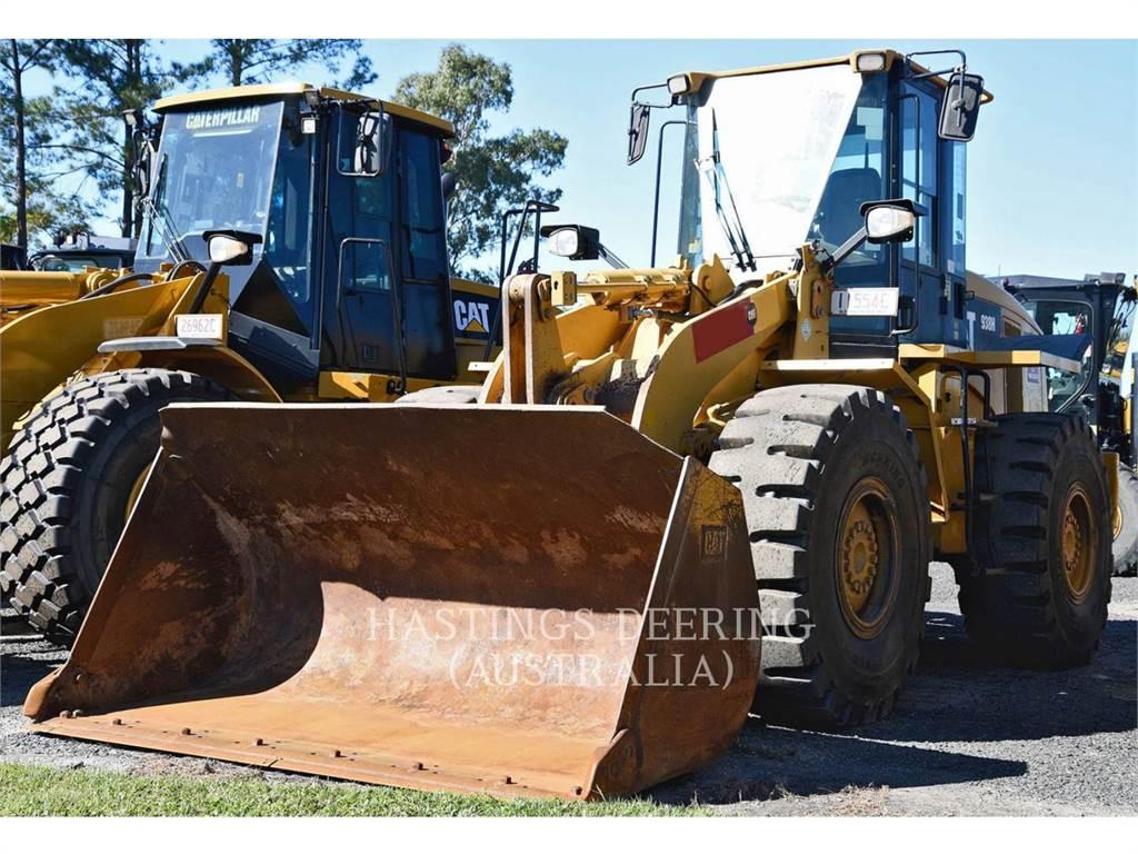 Caterpillar 938H, Cargadoras sobre ruedas, Construcción