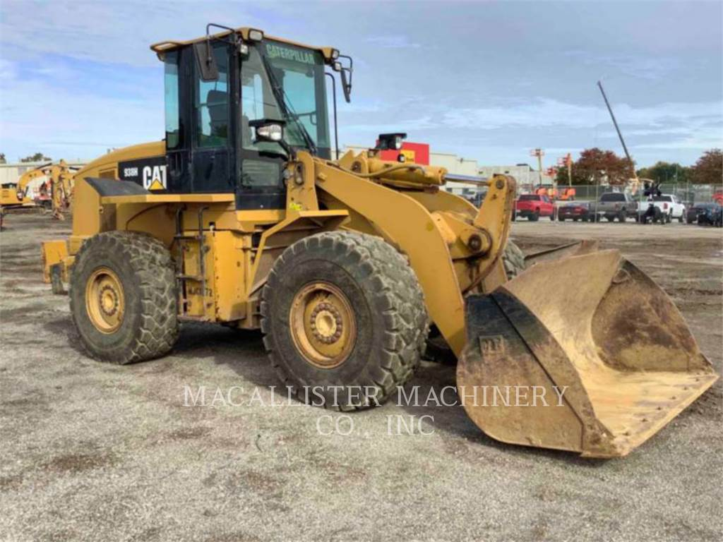 Caterpillar 938H, Wheel Loaders, Construction