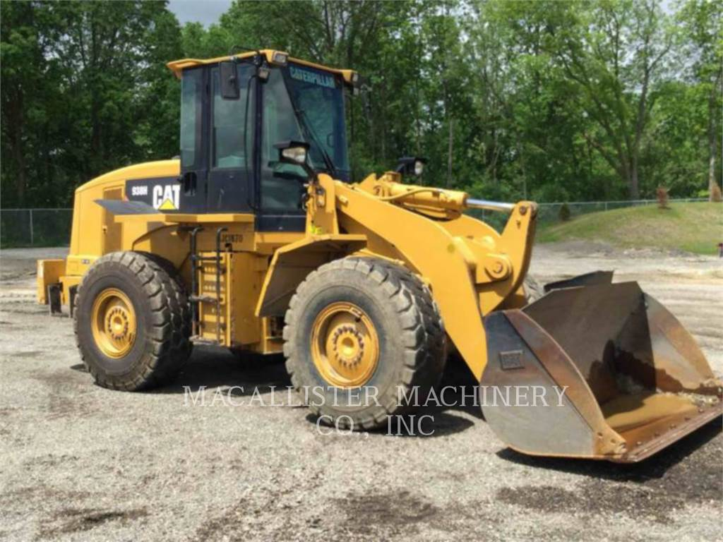 Caterpillar 938H、ホイールローダー、建設
