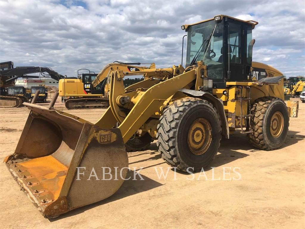 Caterpillar 938H, Ładowarki kołowe, Sprzęt budowlany