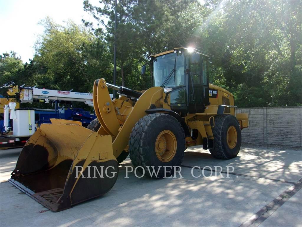 Caterpillar 938K, Ładowarki kołowe, Sprzęt budowlany