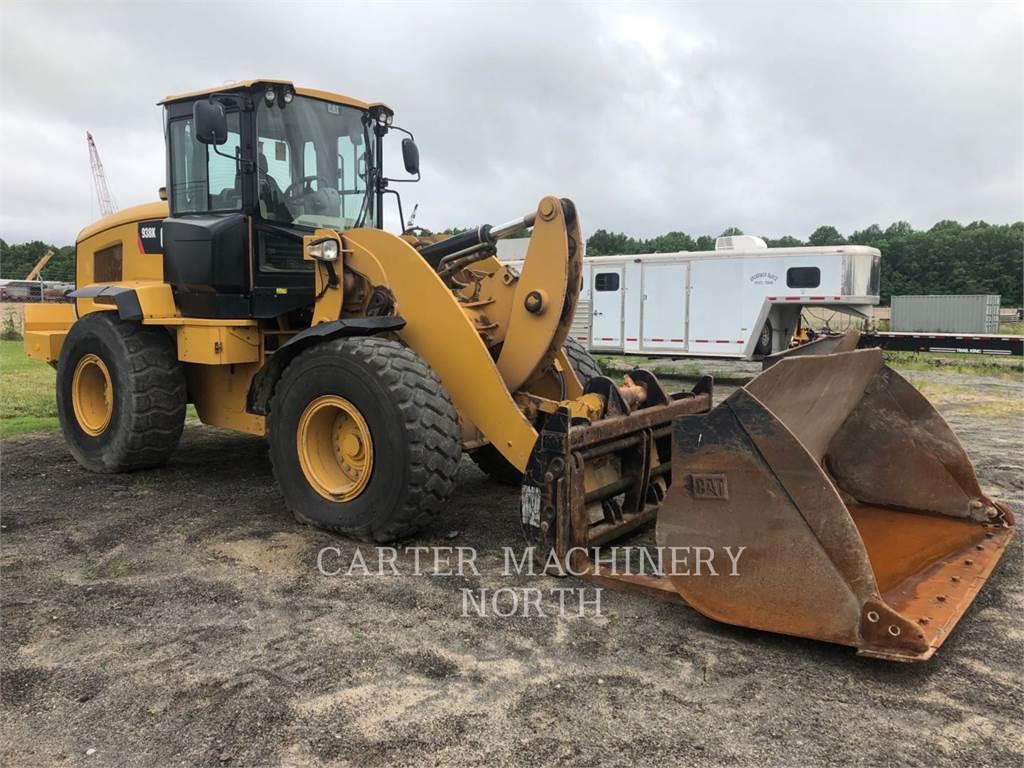 Caterpillar 938K, Wheel Loaders, Construction
