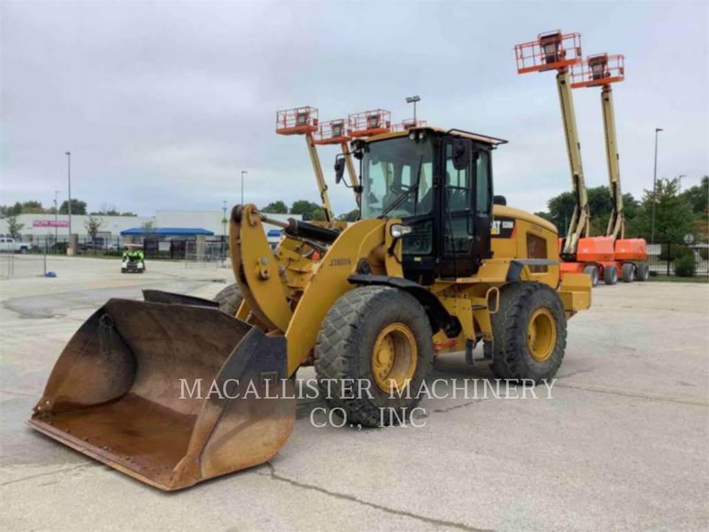 Caterpillar 938M, Incarcator pe pneuri, Constructii