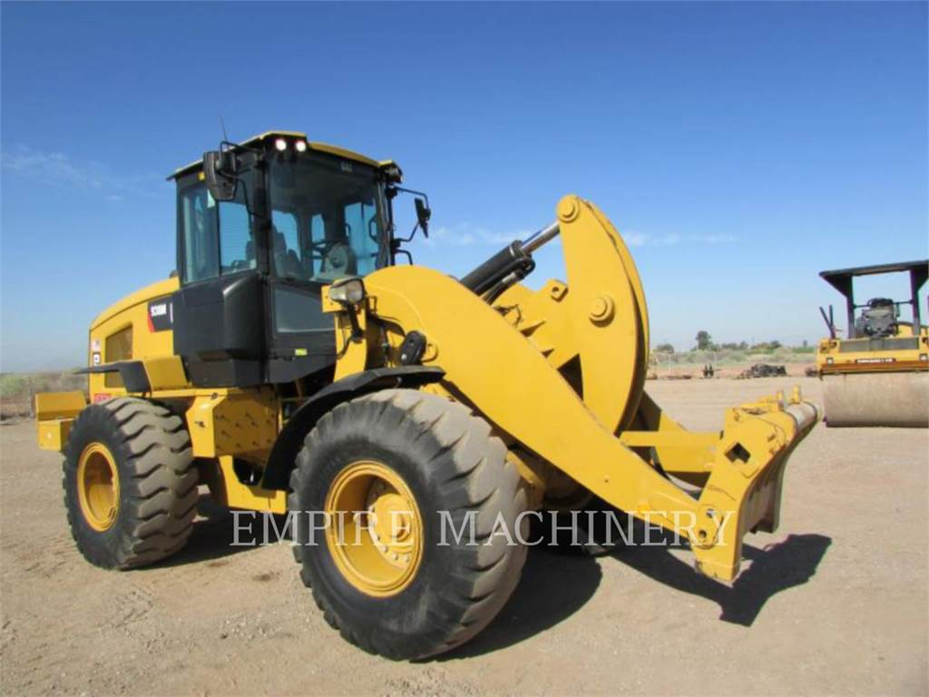 Caterpillar 938M FC, Фронтальные погрузчики, Строительное
