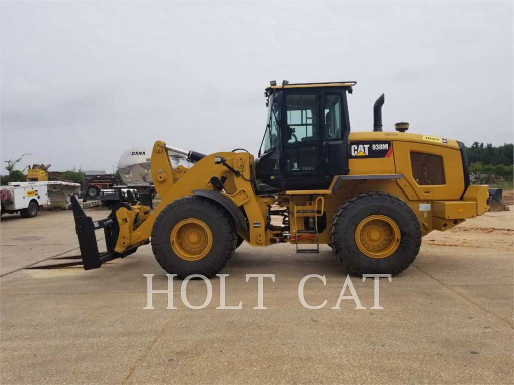Caterpillar 938M QC, Incarcator pe pneuri, Constructii
