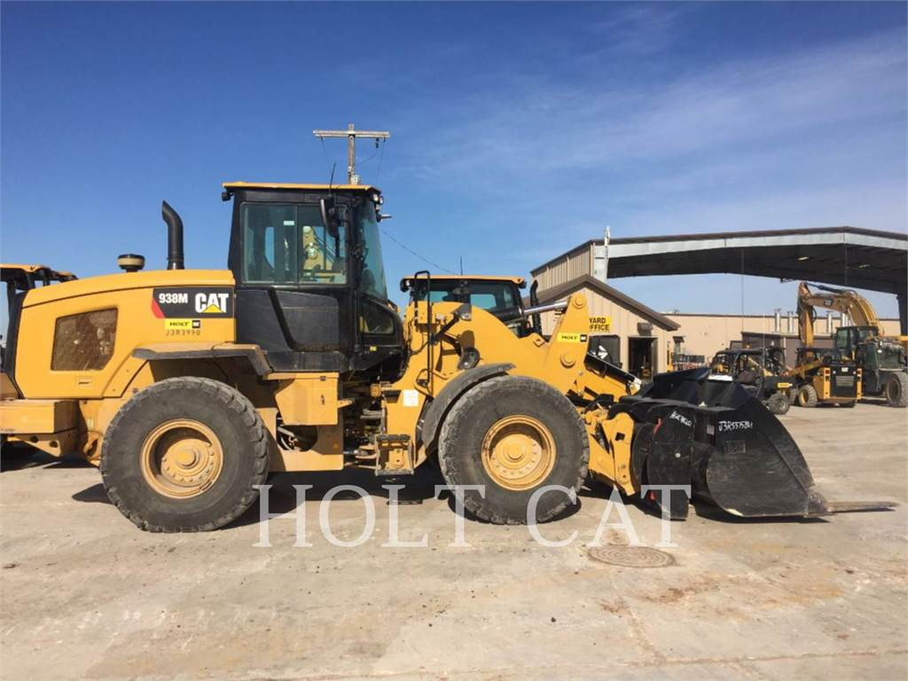 Caterpillar 938M QC, Wielladers, Bouw