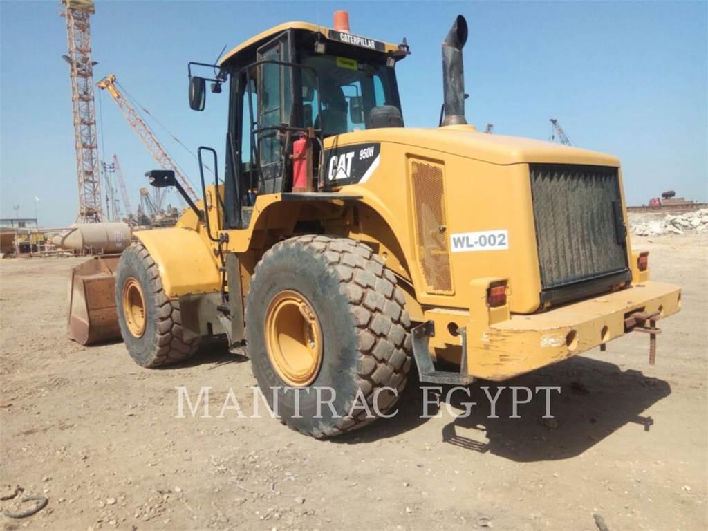Caterpillar 950 H、ホイールローダー、建設