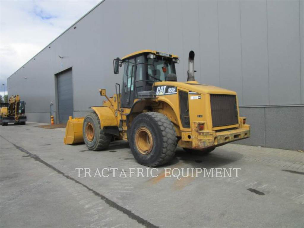 Caterpillar 950 H, Wheel Loaders, Construction