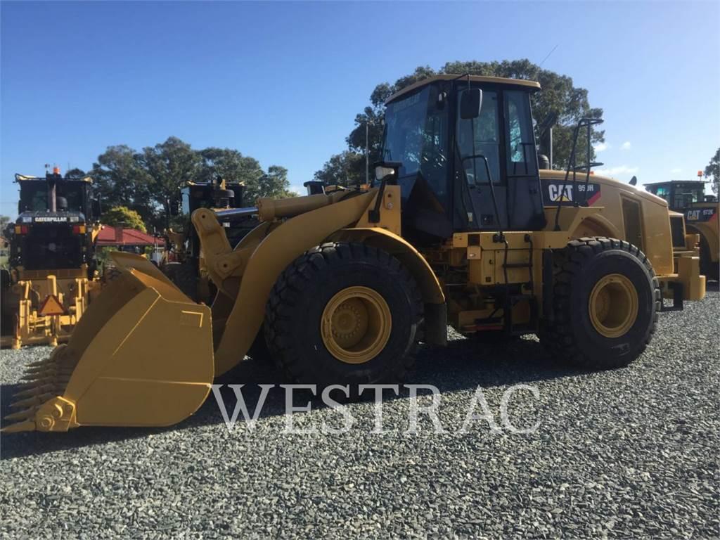Caterpillar 950 H, Wheel Loaders, Construction