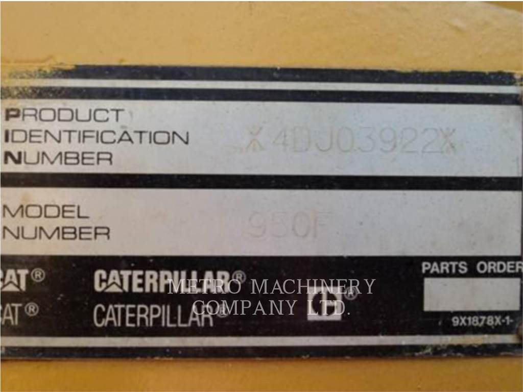 Caterpillar 950FII, Wheel Loaders, Construction