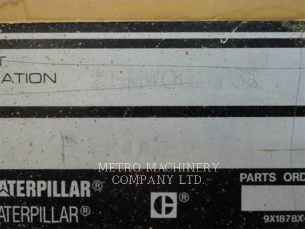 Caterpillar 950G, Wielladers, Bouw
