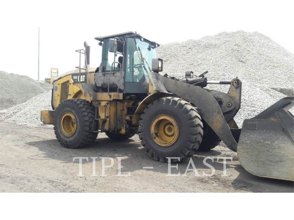 Caterpillar 950GC, Wheel Loaders, Construction