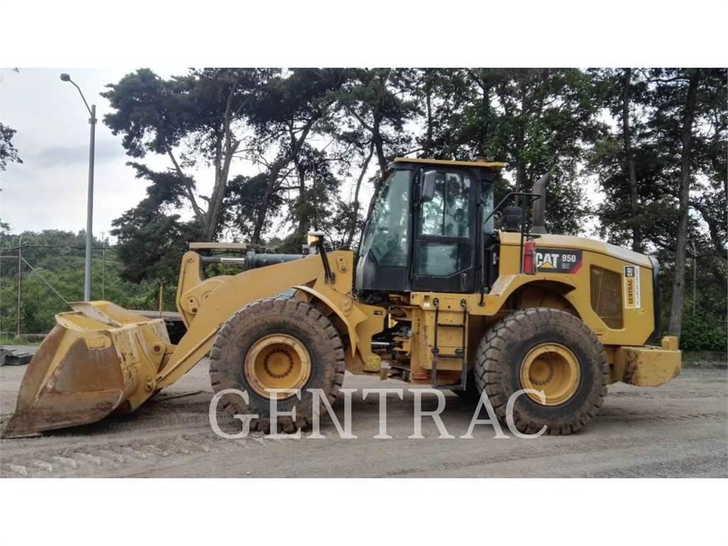 Caterpillar 950GC、ホイールローダー、建設