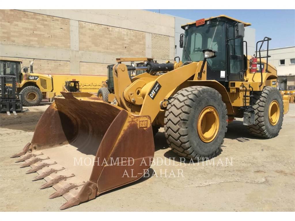Caterpillar 950GC, Wielladers, Bouw