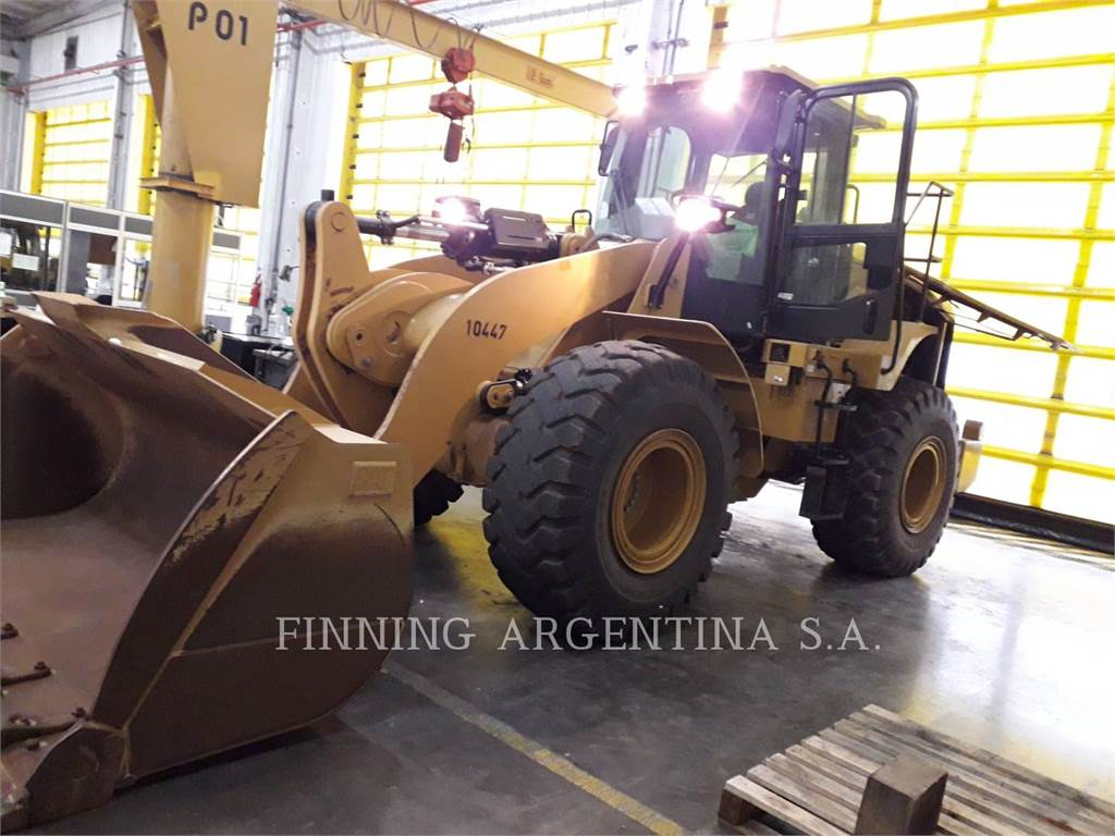 Caterpillar 950GC, Wielladers, Bouw