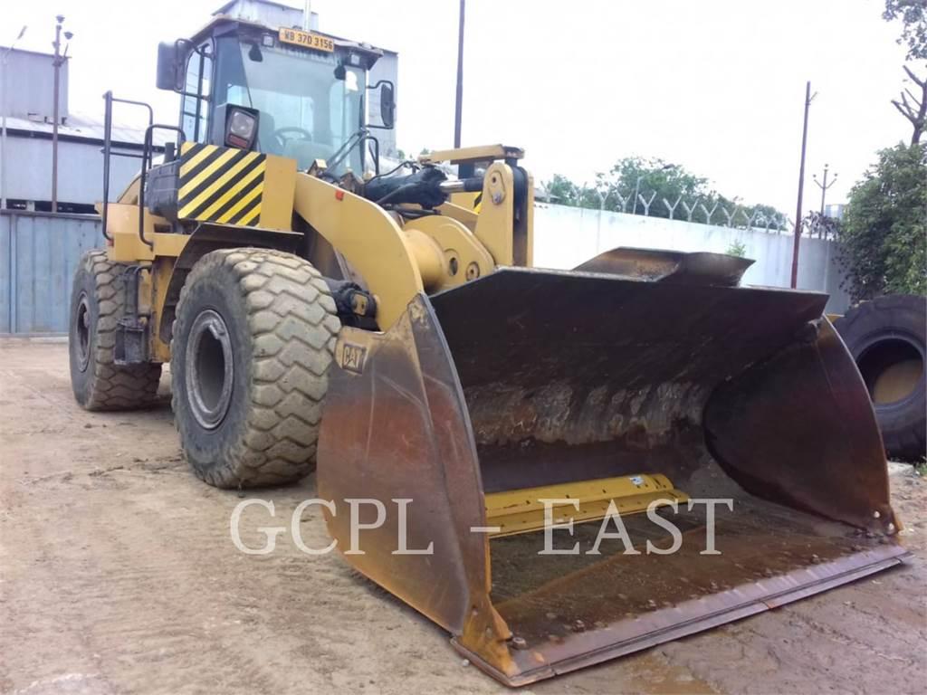 Caterpillar 950GC, Pale gommate, Attrezzature Da Costruzione