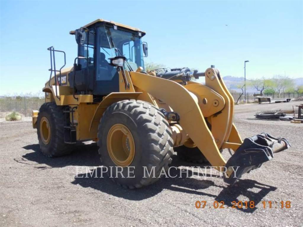 Caterpillar 950GC, Cargadoras sobre ruedas, Construcción
