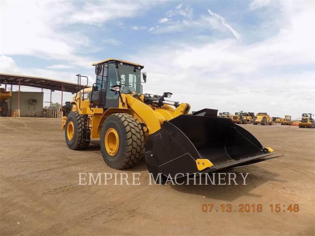 Caterpillar 950GC, Pás carregadoras de rodas, Equipamentos Construção