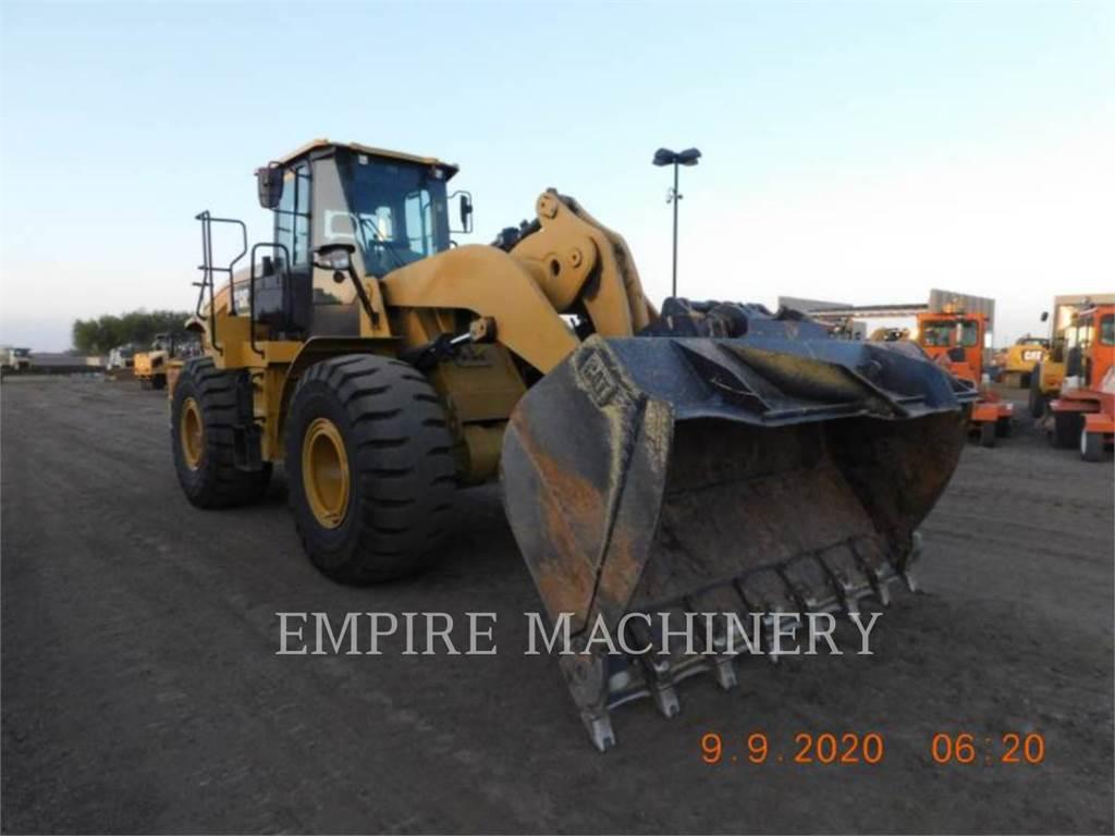 Caterpillar 950GC FC, Incarcator pe pneuri, Constructii