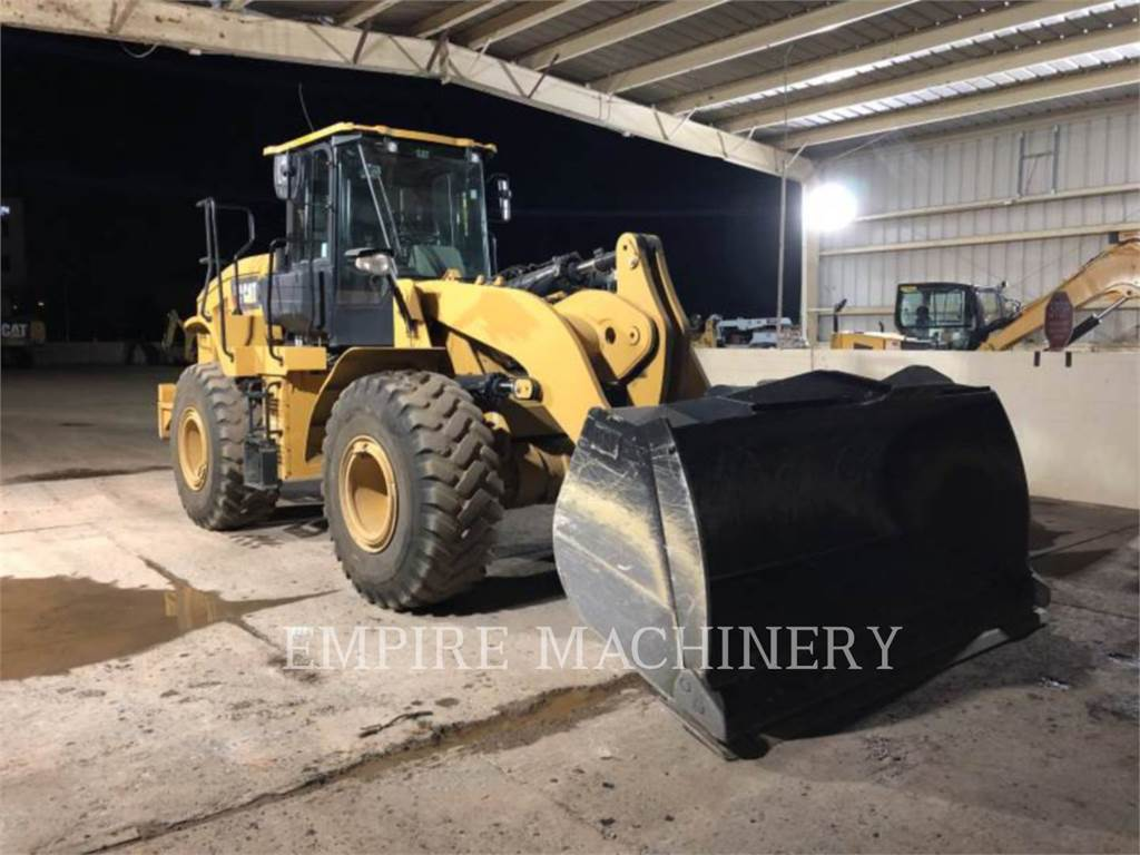 Caterpillar 950GC FC, Wielladers, Bouw