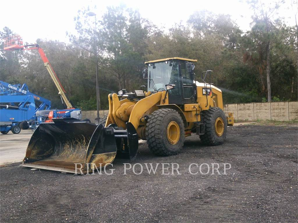 Caterpillar 950GCQC, Incarcator pe pneuri, Constructii