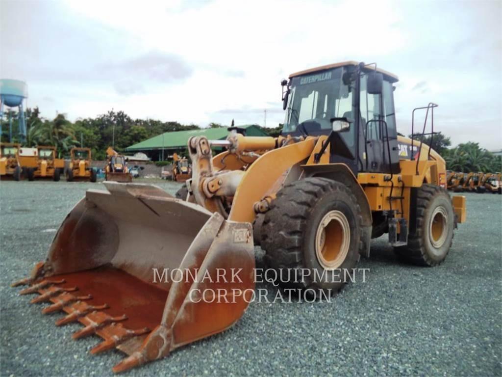Caterpillar 950H、ホイールローダー、建設