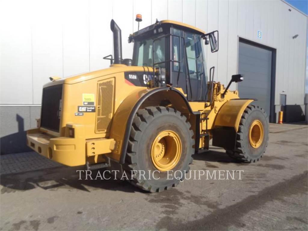 Caterpillar 950H, Wheel Loaders, Construction