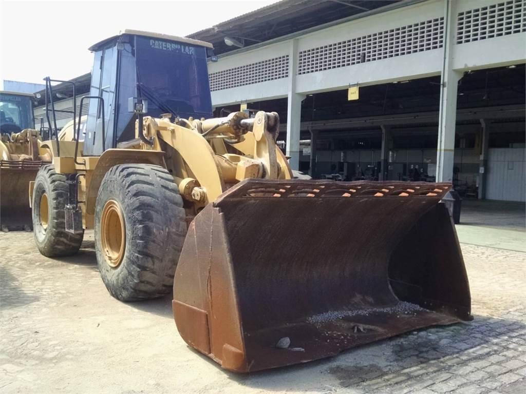 Caterpillar 950H, Pás carregadoras de rodas, Equipamentos Construção