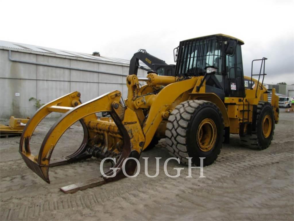 Caterpillar 950H, Ładowarki kołowe, Sprzęt budowlany