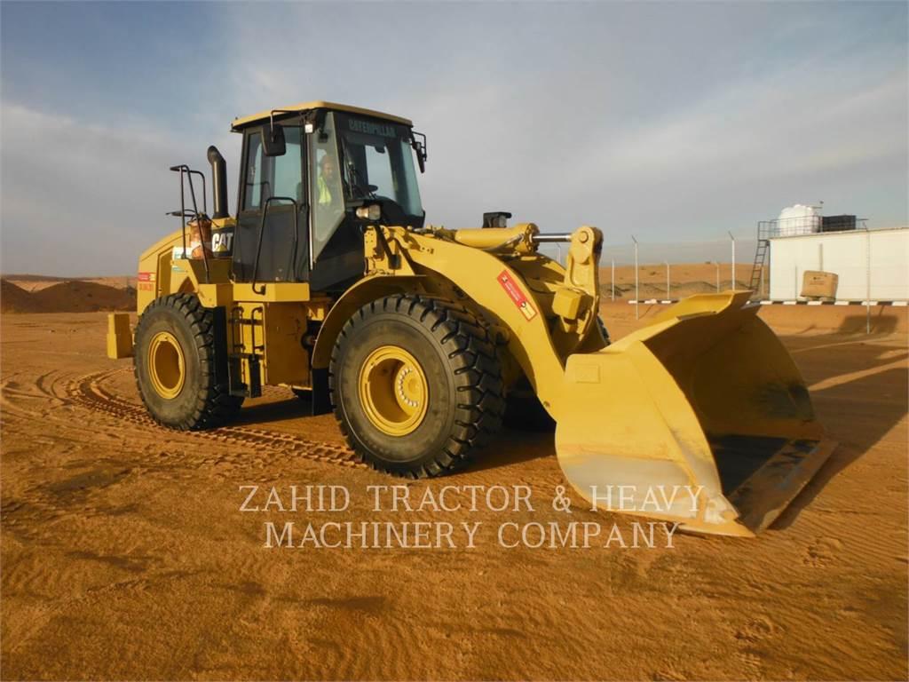 Caterpillar 950H, Incarcator pe pneuri, Constructii
