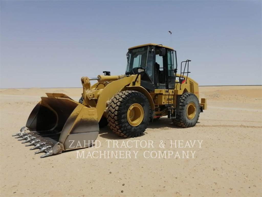 Caterpillar 950H, Pale gommate, Attrezzature Da Costruzione