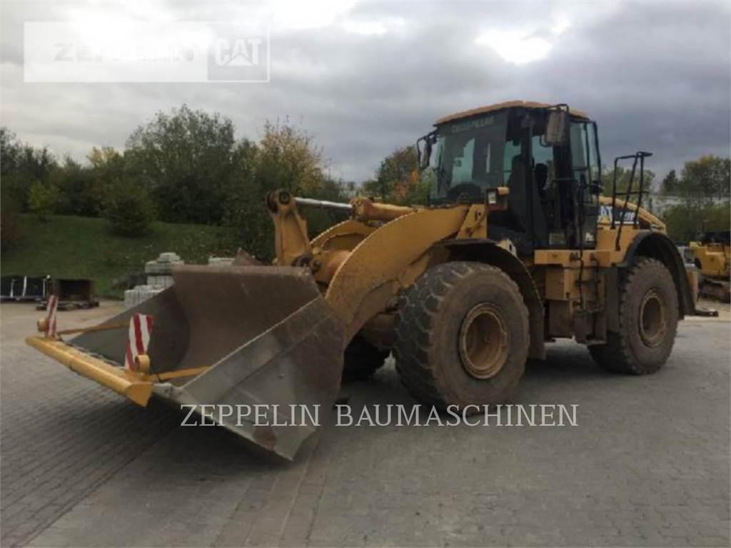 Caterpillar 950HS, Pás carregadoras de rodas, Equipamentos Construção