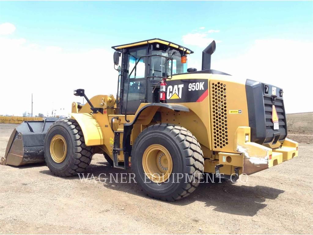 Caterpillar 950K, Cargadoras sobre ruedas, Construcción