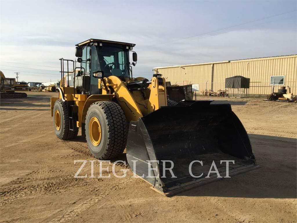 Caterpillar 950K、ホイールローダー、建設