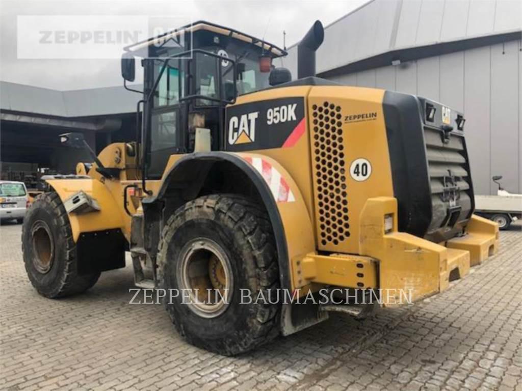 Caterpillar 950K, Wielladers, Bouw