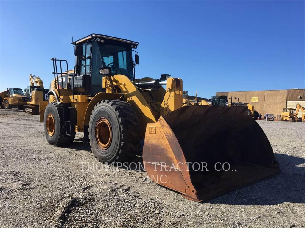 Caterpillar 950K, Incarcator pe pneuri, Constructii