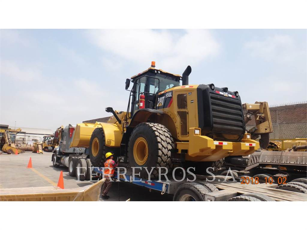 Caterpillar 950L, Wheel Loaders, Construction