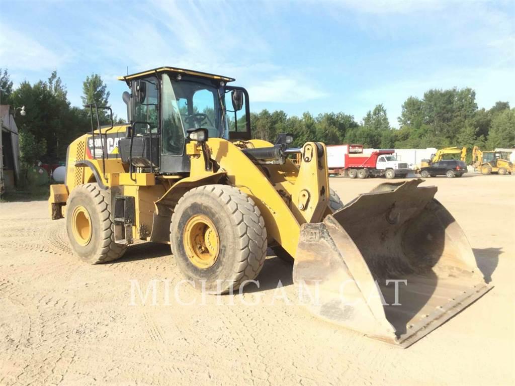 Caterpillar 950M, Cargadoras sobre ruedas, Construcción