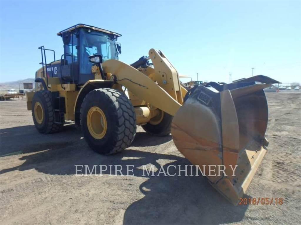 Caterpillar 950M、ホイールローダー、建設
