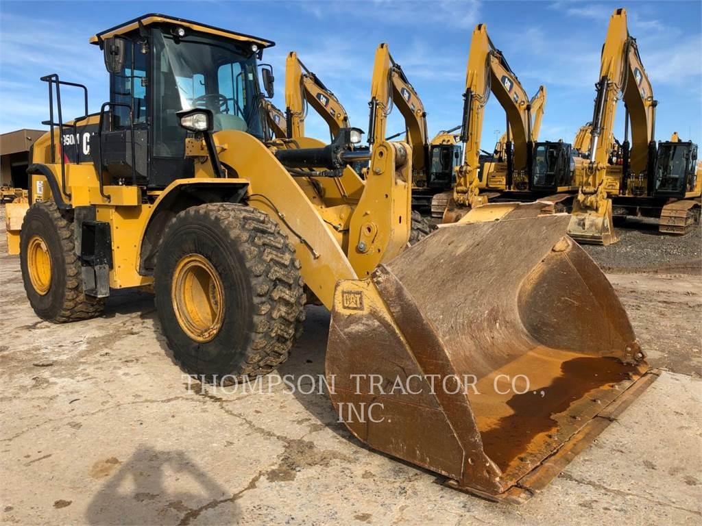 Caterpillar 950M, Incarcator pe pneuri, Constructii