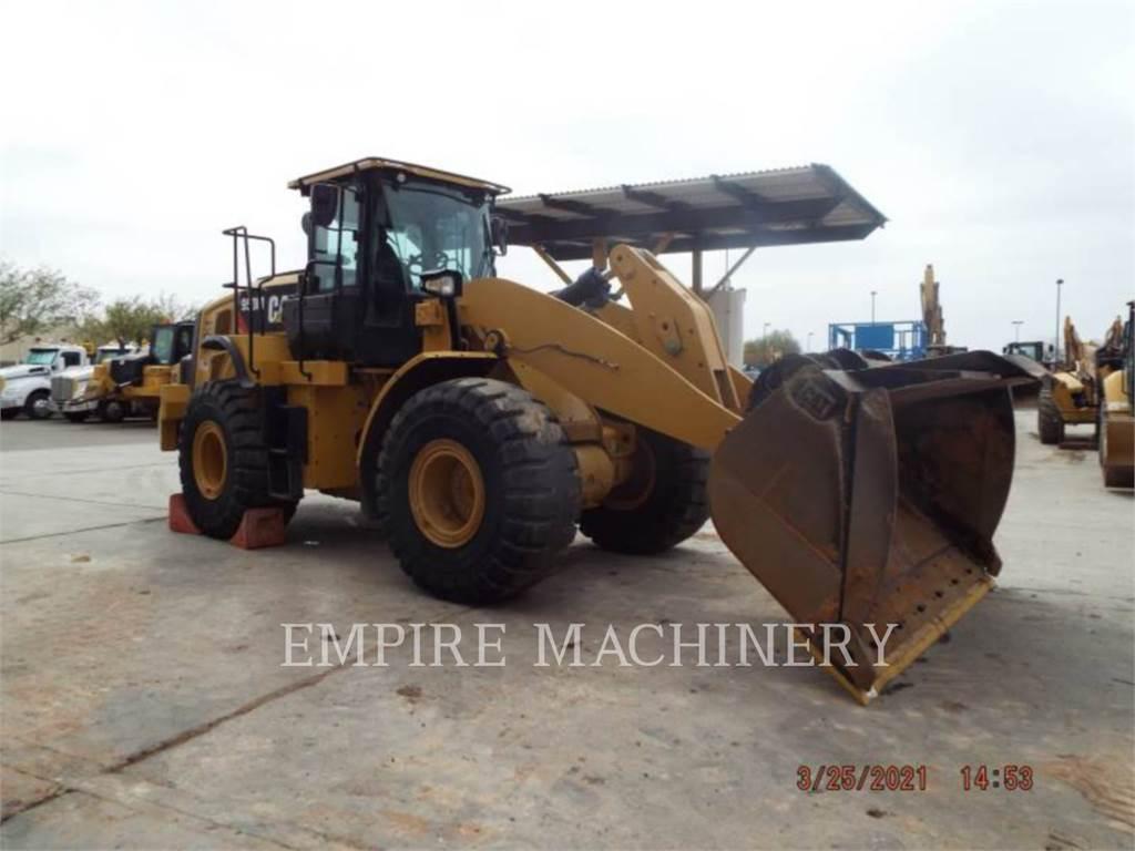 Caterpillar 950M FC, Ładowarki kołowe, Sprzęt budowlany
