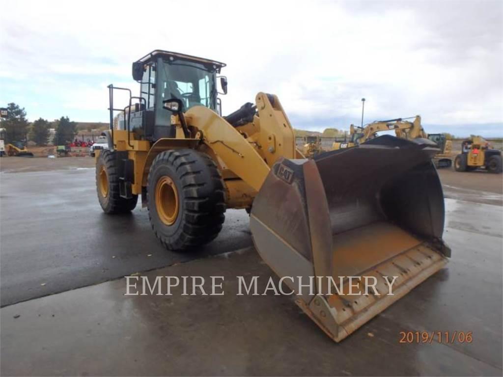 Caterpillar 950M FC, Cargadoras sobre ruedas, Construcción