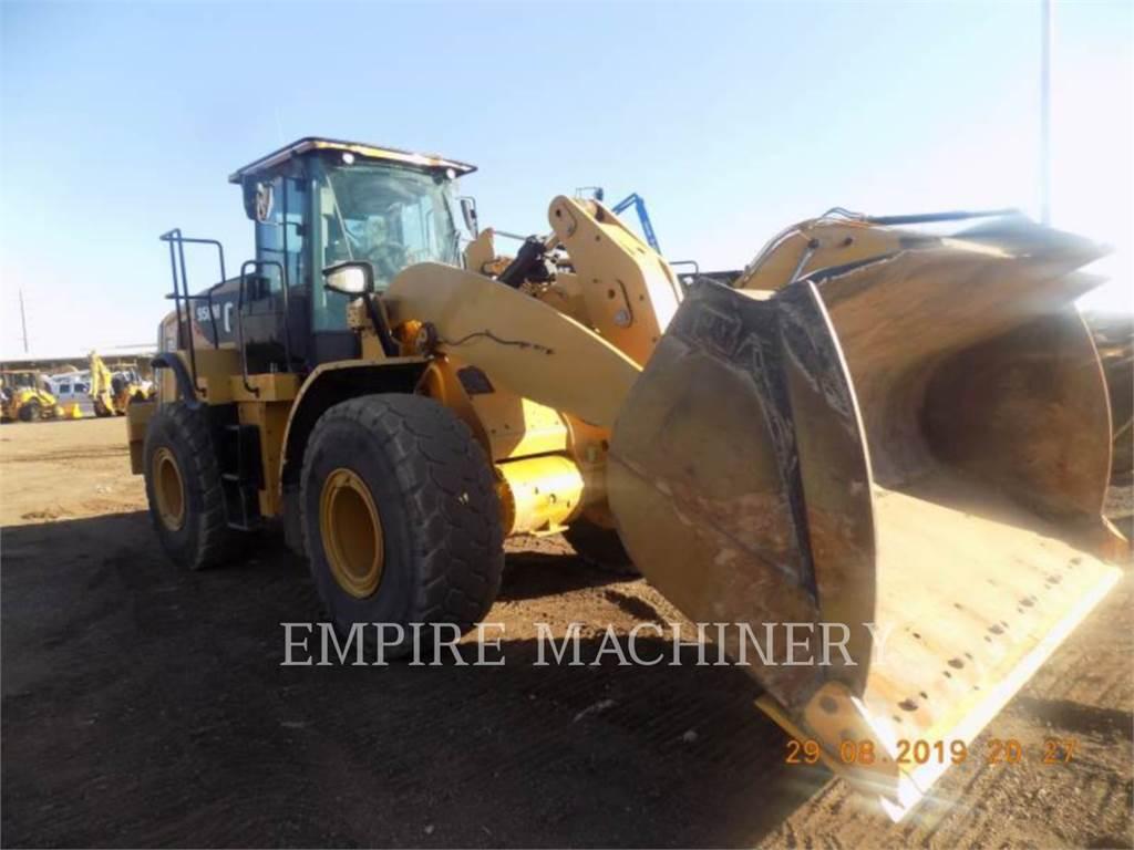 Caterpillar 950M FC, Incarcator pe pneuri, Constructii