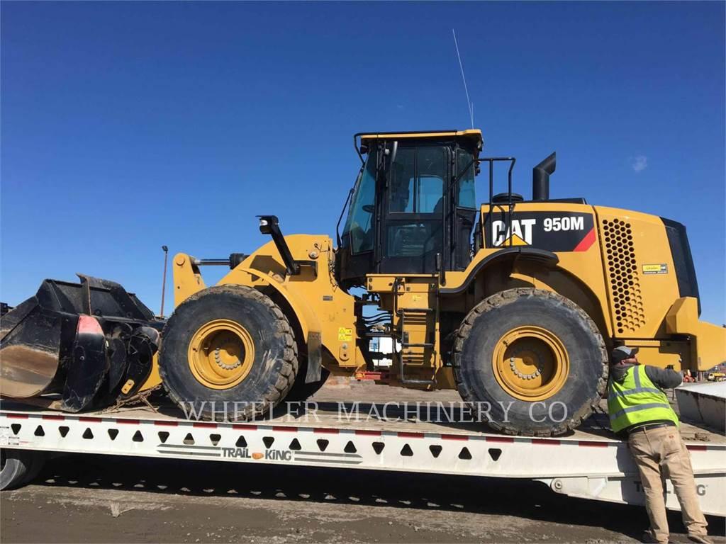 Caterpillar 950M QCF, Cargadoras sobre ruedas, Construcción