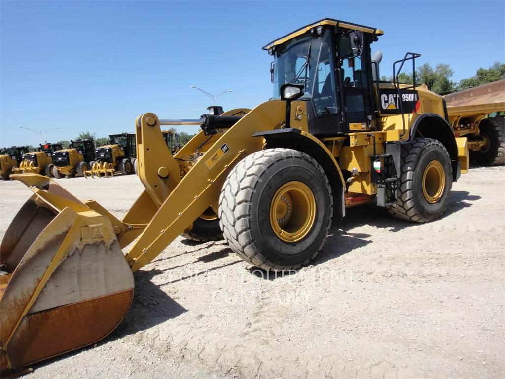 Caterpillar 950MHL, Incarcator pe pneuri, Constructii